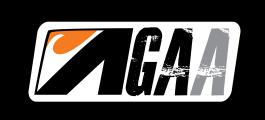 GAA Letters Orange